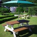 파파나무 야외피크닉테이블/4~8인용/야외용테이블
