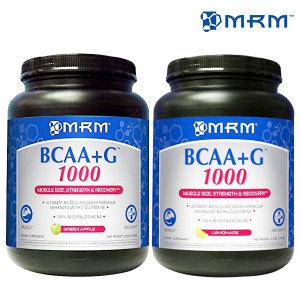 MRM 엠알엠 BCAA+G 1000 레몬맛 애플맛 1kg 154서빙