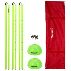 낫소 돔콘 허들세트-림보게임 폴막대 체육용품