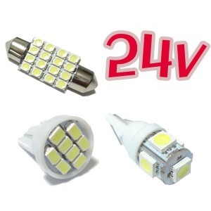 24v LED 실내등전구/36mm/31mm/t10/미등