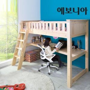 스마트 키높이 벙커침대 책상형/매트선택/책상침대