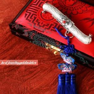 일편단심 은장도 銀 외국인 선물 한복 장신구 공예
