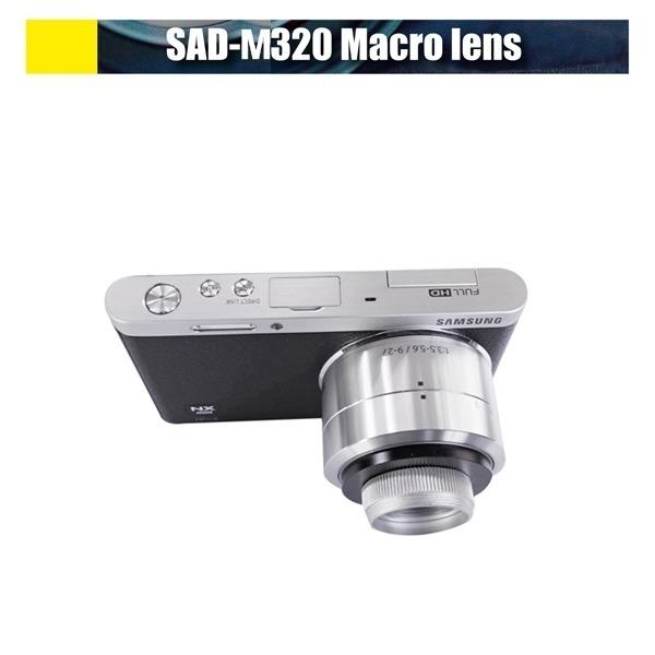 삼성 NX 미니 9-27mm 또는 17mm 전용 접사렌즈