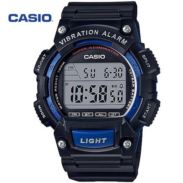 정품 CASIO시계/카시오군인시계/W-736H-2A/진동알람(