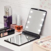 접이식 LED조명 손거울/휴대용 여성사은품용 조명거울
