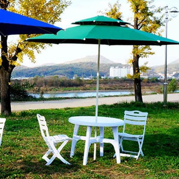 대형 이중8각 컬러 파라솔/카페 인테리어용 추천 우산