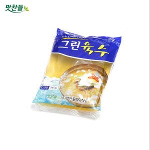 맛찬들백미식품 그린육수 340gX30개(1box)