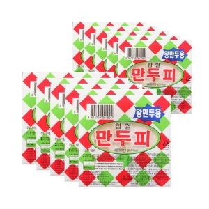 칠갑농산 왕만두피 310g(30장)X10팩/찹쌀만두피