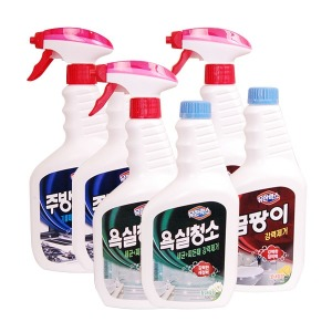 유한락스 욕실청소용 세정 500+500g 살균 곰팡이제거