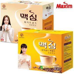 맥심 모카골드  커피믹스 400T/화이트/3000원 추가dc