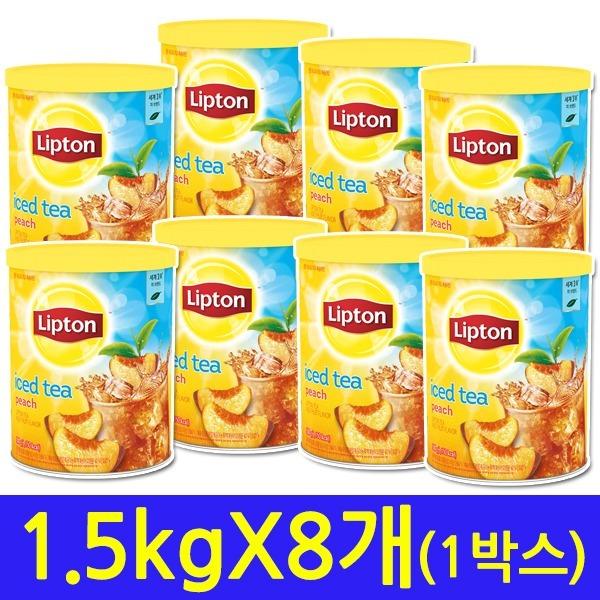 복숭아 아이스티 1.5kg 8개 무료배송 추가금없음