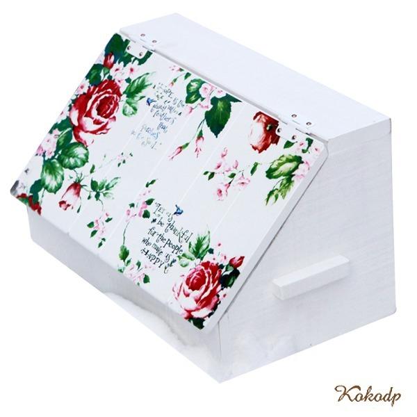 나무 소품 다용도수납함 박스 원목 우드 화장품정리함