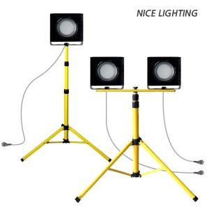 LED 투광기 스탠드/작업등/삼각대/조명/일체형/공사장