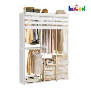 DIY상품  골드형 1500+롤스크린+측판/드레스룸/시스템장/시스템행거/수납가구/옷걸이행