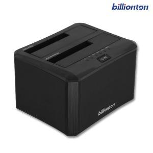 빌리온톤 USB3.0 2베이 외장 도킹스테이션 UASP/16TB