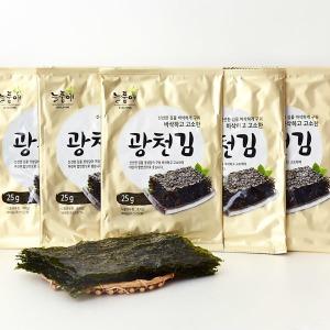 늘품애 황금빛 광천전장김  25gx10봉무료배송