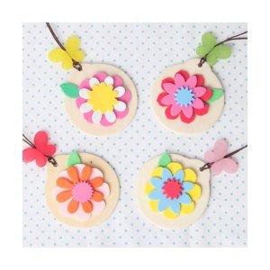 꽃 목걸이(4인용)