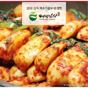 고이담 총각김치 5kg 국내산 100% 아삭한 /김치종가집