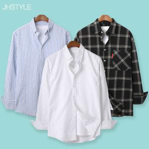 봄셔츠/체크/기본/청셔츠/옥스포드/스트라이프