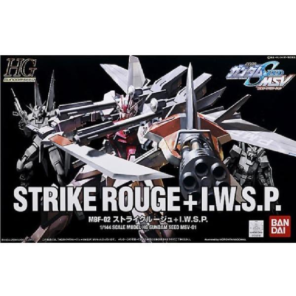 HG/1-144/MBF-02(스트라이크 루쥬 + I.W.S.P.)