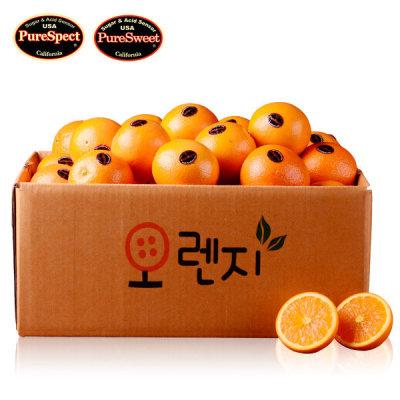 퓨어스펙/스위트 오렌지 4kg 20-25과 중소과