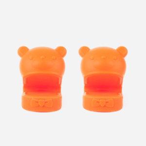 곰돌이 냄비손잡이 집게 (오렌지- 2개 한세트)