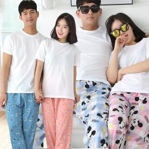 봄신상 잠옷바지/파자마/특면/커플/남성/여성/잠옷