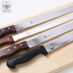 일본 니켄 빵칼(톱니/민자) 25/30/35cm /제과제빵칼