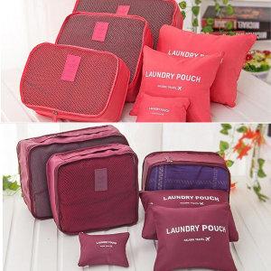 여행용 파우치 6종 트래블 가방 파우치백 여행가방