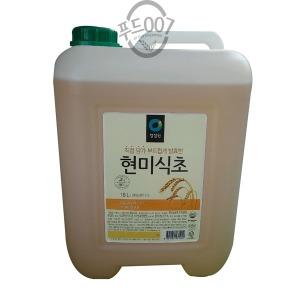 대상 청정원 현미식초 18L 무료배송