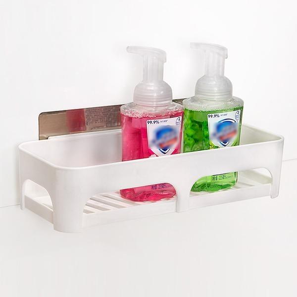 욕실선반 욕실용품 매직 흡착 수납선반 A형