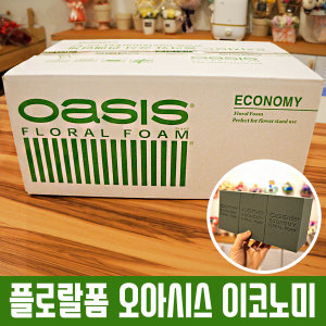 플로랄폼 오아시스 이코노미/1박스/플로라폼/꽃블럭
