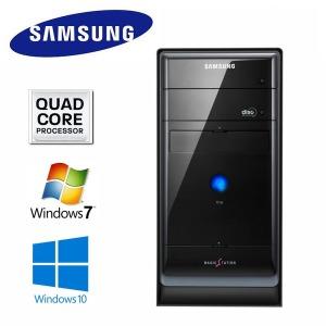 삼성 데스크탑 150 컴퓨터본체 쿼드코어PC SSD가능