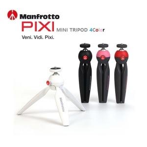 맨프로토 PIXI 미니삼각대 블랙/레드/화이트