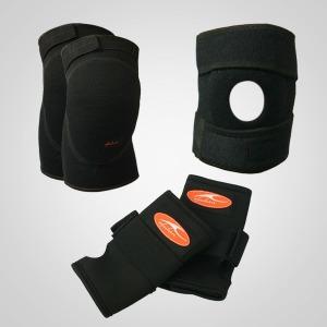 충격완화 무릎/손목 보호대 등산 보행용보호대 투반