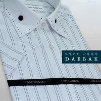 DRO34_남성 줄무늬 반팔셔츠/데일리/이너셔츠