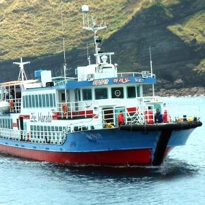 마라도가는여객선/마라도유람선/마라도 배 /송악산항
