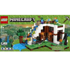 LEGO 레고 마인크래프트 폭포 동굴탈출 21134