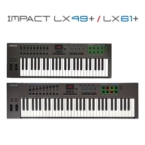 Nektar Impact LX49+/LX61+ 마스터키보드