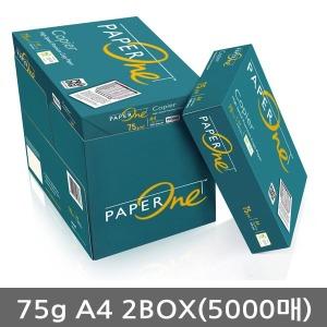 무료배송 페이퍼원(copier)75g A4 복사용지 2BOX