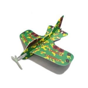중형size 스티로폼 비행기 조립 글라이더 종이비행기