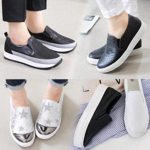 키높이 슬립온 로퍼 단화 여성 스니커즈 운동화 신발