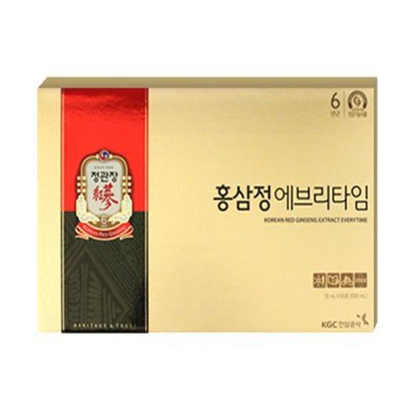정관장 홍삼정 에브리타임 10ml x 50포/한정매장상품