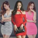 유유존-미니원피스/클럽의상/섹시홀복/롱/나시/가을탑