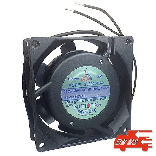 썬트로닉스 FAN80mm  AC220V 80x80x25mm AC팬