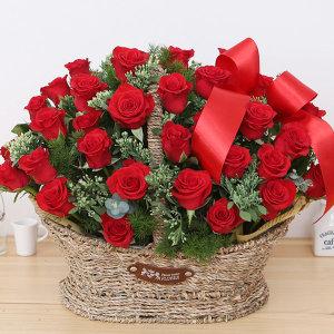 대형꽃바구니 결혼식 취임식 기념일 생일 꽃배달