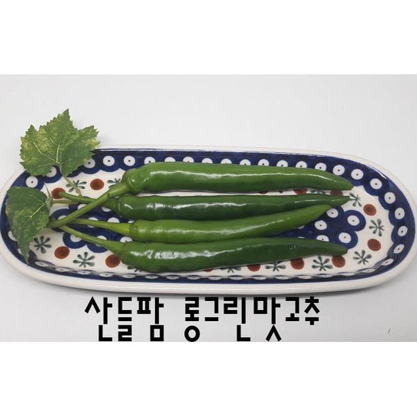 롱그린맛고추(오이맛)아삭이고추(특품)1kg