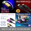 HDMI V2.0 골드 울트라 케이블 5M 10M 15M