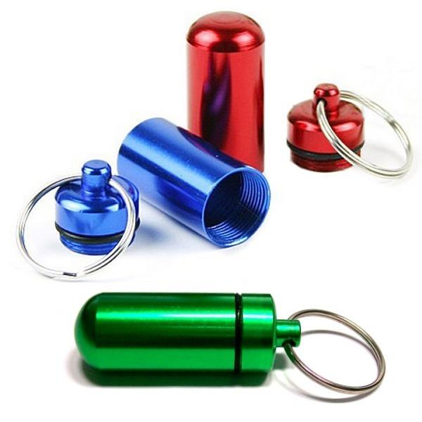 약보관 비상캡슐-휴대용 약보관 약상자 약통 구급함