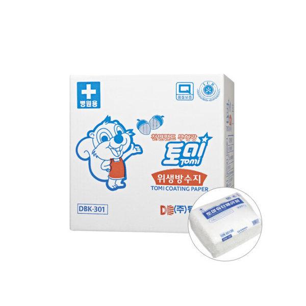 토미워터 위생방수지 1box(100매 20팩) 베개커버